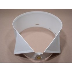 Frakový límeček PVC - nízký