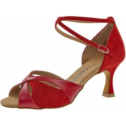 Diamond mod.141 red nubuck / red leather F6