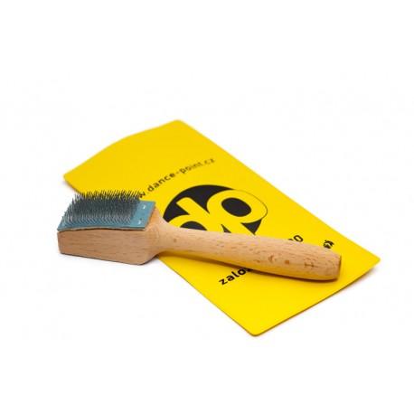 Shoe soles brush