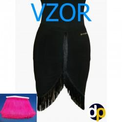 Skirt LA pattern 1 nero