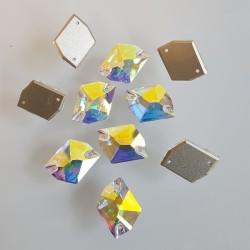 kámen našívací broušený AB Cosmic 13x17mm 3265