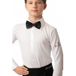 Bow tie white-black