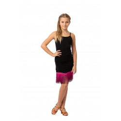 Skirt LA pattern 3 black / dew forte