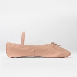 Cvičky So Danca růžové kožené baletní