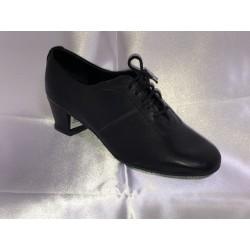 Pánské boty na latinu  Bábor mod.L5 černá kůže podpatek 3,5cm