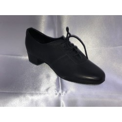 Pánské boty na latinu  Bábor mod.L5 černá kůže podpatek 2,5cm