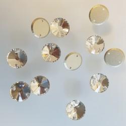 kámen našívací broušený 10mm crystal