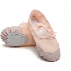 Cvičky HDS růžové látkové baletní