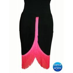 Skirt LA pattern 1 rosa forte