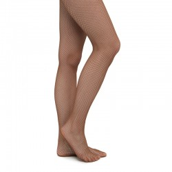 Pantyhose RUMPF-111 Fishnet - brown