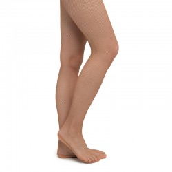 Pantyhose RUMPF Fishnet - light toast