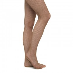 Pantyhose RUMPF Fishnet - classic toast