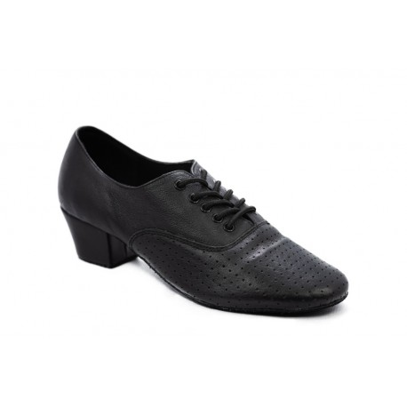 HDS T2 Training black leather 3,5cm perforated