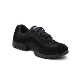 HDS sneaker černý semiš