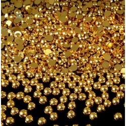 Perly nalepovací barevné Gold