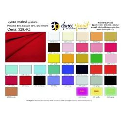 Lycra matt width 150cm