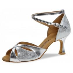 Diamond mod.141 Silver leather / silver anthracite F6