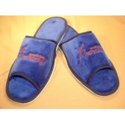 Papuče s logem Henzély modré