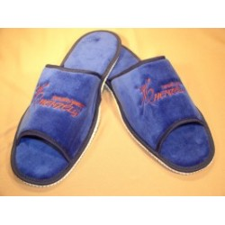 Slippers with Henzely blue logo