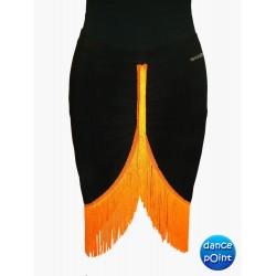 Skirt LA pattern 1 arancio