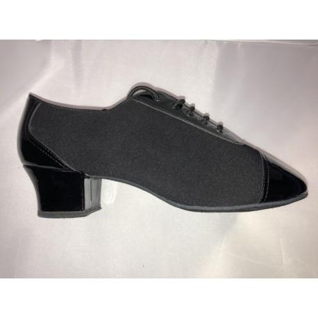 HDS PLA005 černá lycra/ černý lak, 3,5cm
