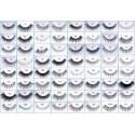 Folding eyelashes